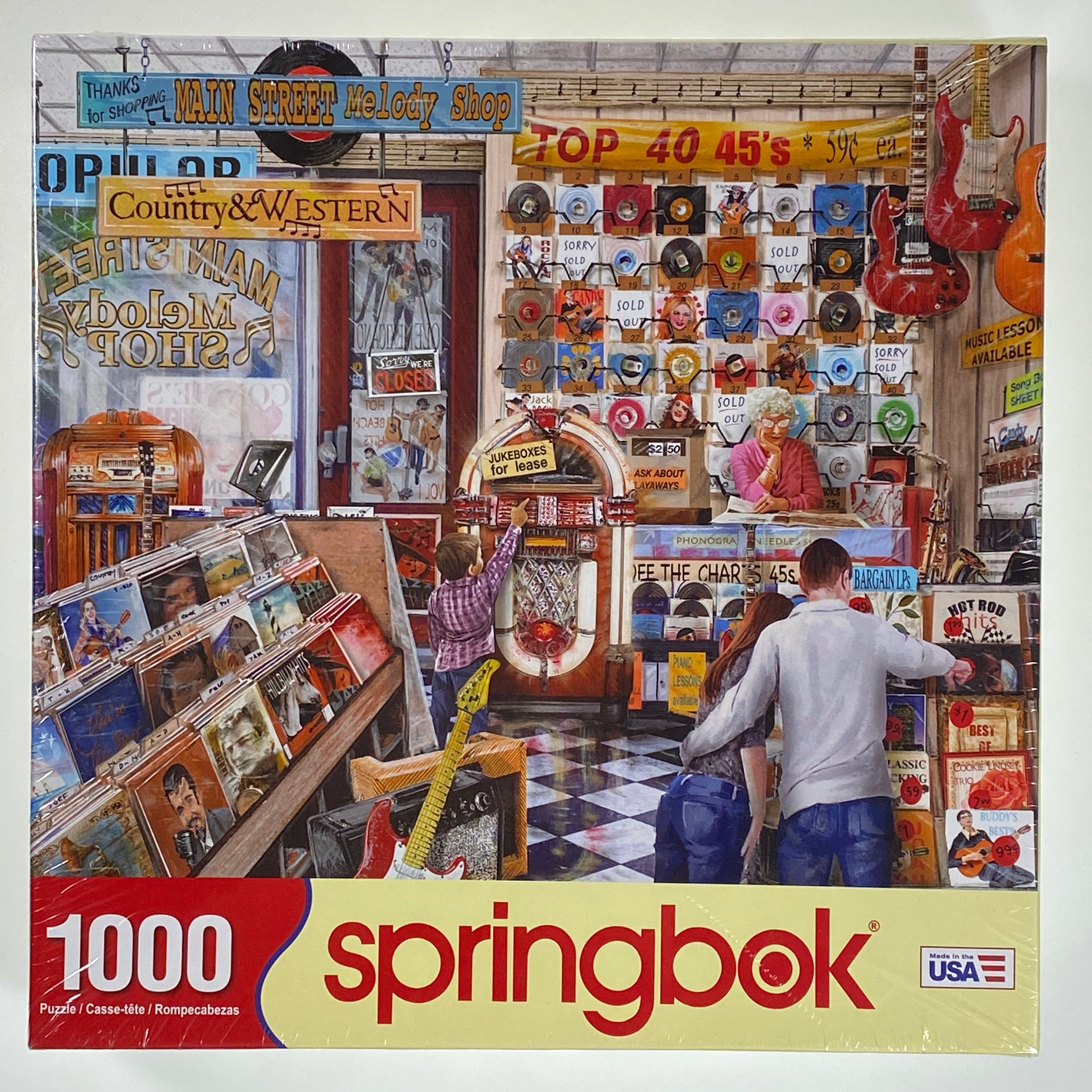 Melody Shop 1000 Piece Puzzle