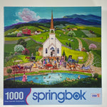 Spring Wedding 1000 Piece Puzzle
