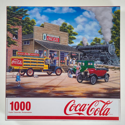Coca-Cola All Aboard 1000 Piece Puzzle