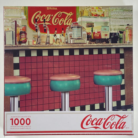 Coca-Cola Soda Shop 1000 Piece Puzzle