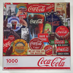 Coca-Cola Decades of Tradition 1000 Piece Puzzle