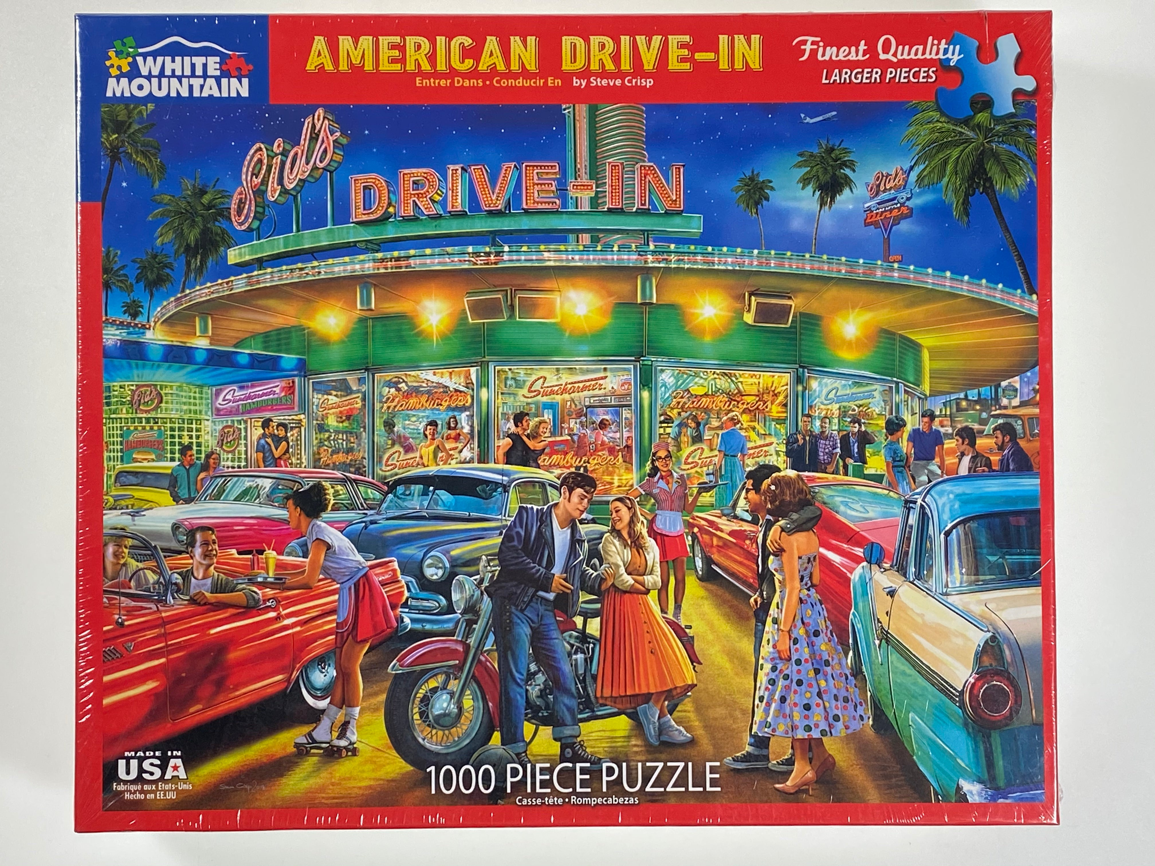 American Drive In 1000 piece puzzle