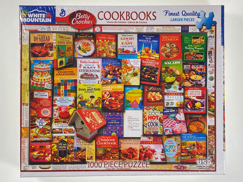 Betty Crocker Cookbook 1000 piece puzzle