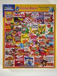 Cereal Boxes 1000 piece puzzle