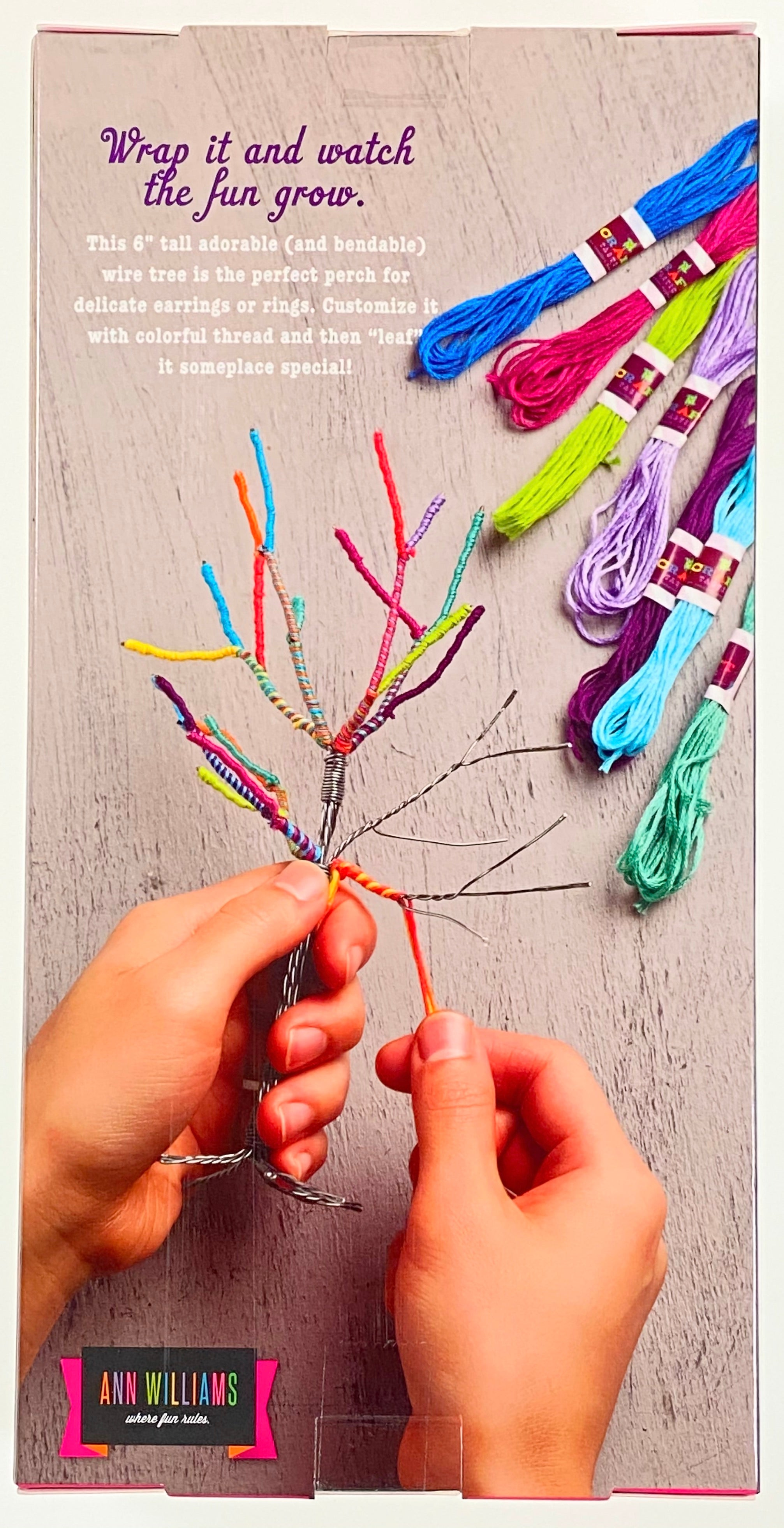 The Tiny Yarn Tree Kit
