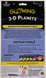 Glow-in-the-Dark 3-D Planets