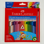 Faber-Castell 24 Triangular Watercolor EcoPencils