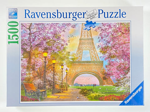 Paris Romance 1500 Piece Puzzle