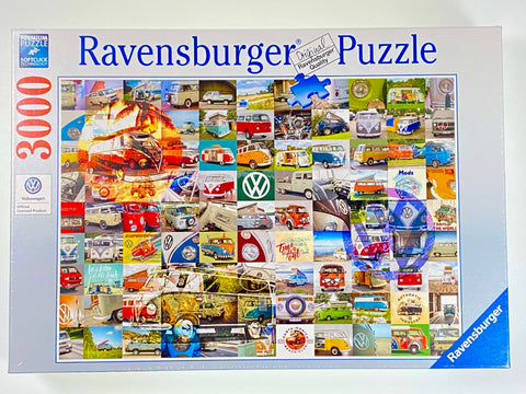 99 VW Campervan Moments 3000 Piece Puzzle