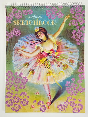 French Dancer Sketch Book