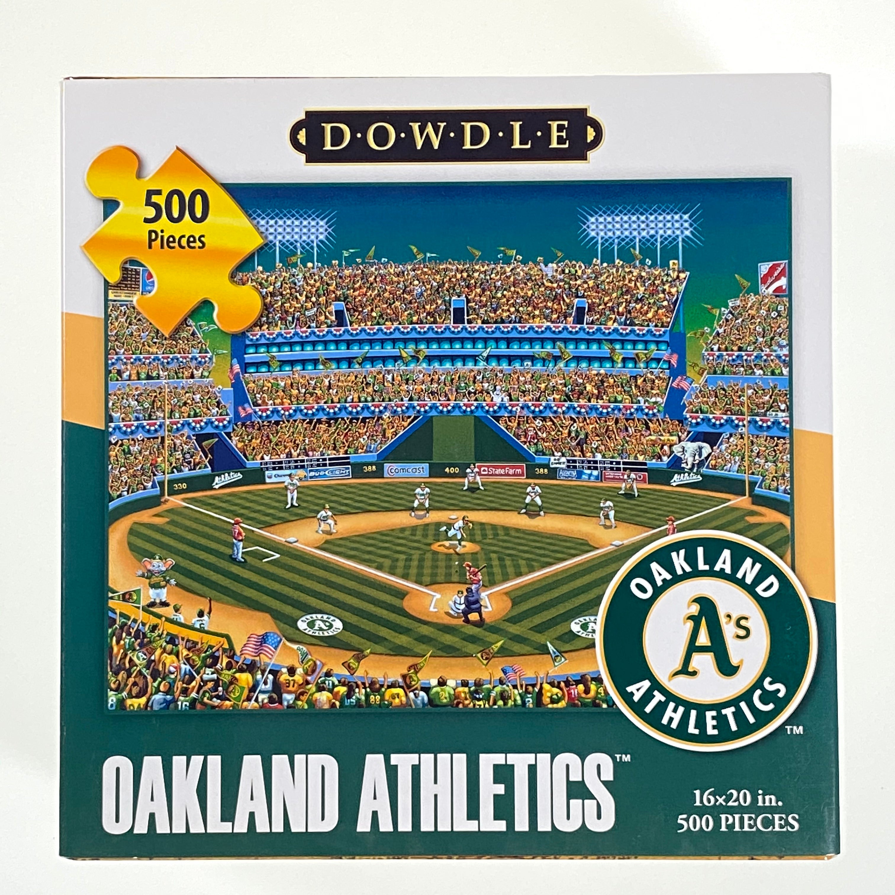 Oakland Althetics 500 Piece Puzzle