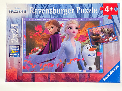 Frosty Adventures Frozen II 2x24 piece puzzles