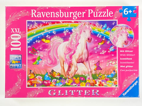 Horse Dream Glitter 100 piece puzzle