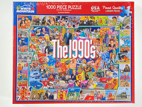 The Nineties 1000 piece puzzle
