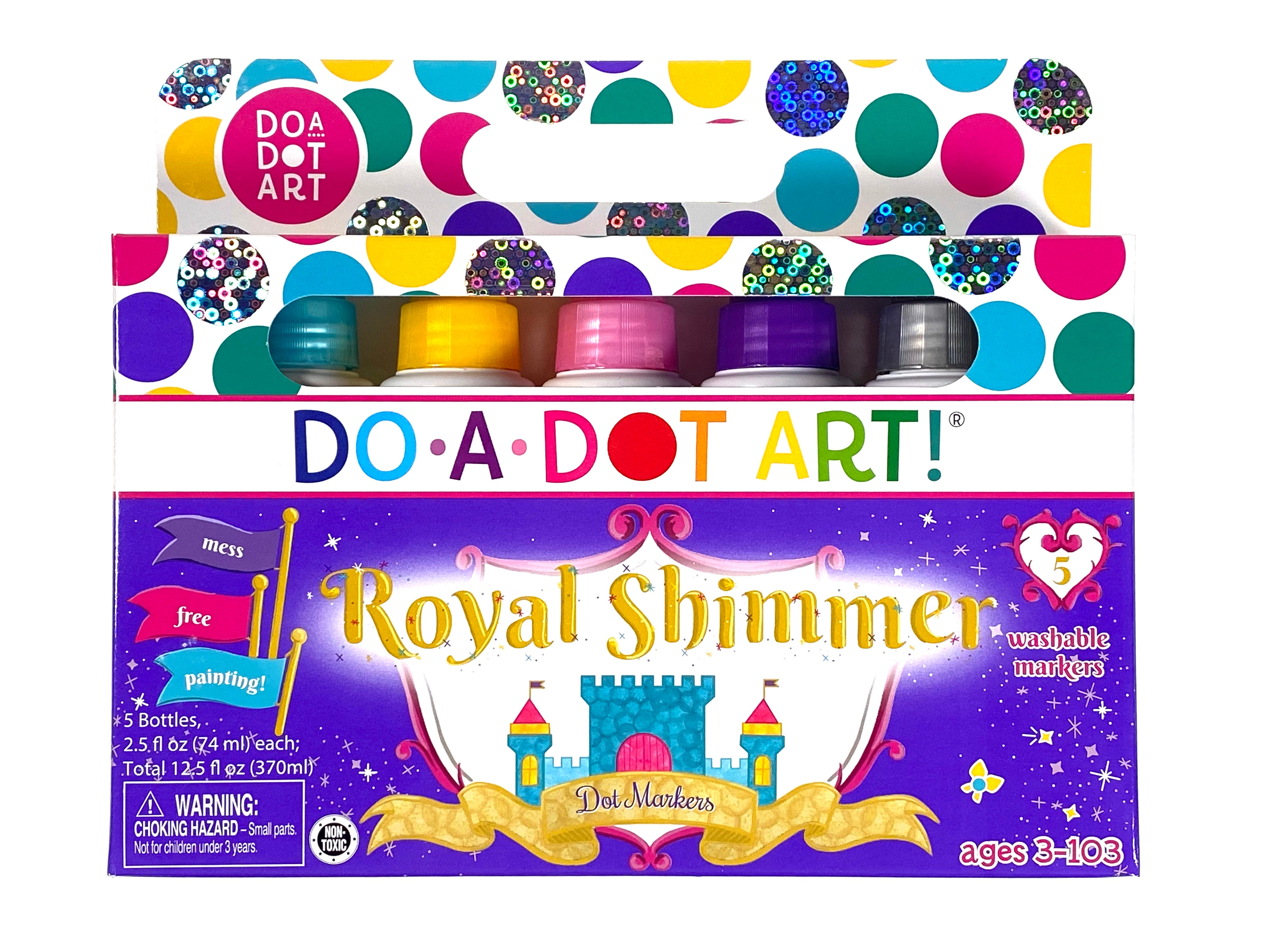 Do-a-Dot Art Royal Shimmer 5-pack