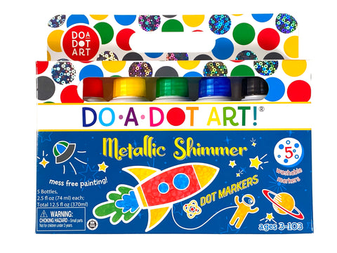 Do-a-Dot Metallic Shimmer 5 Pack