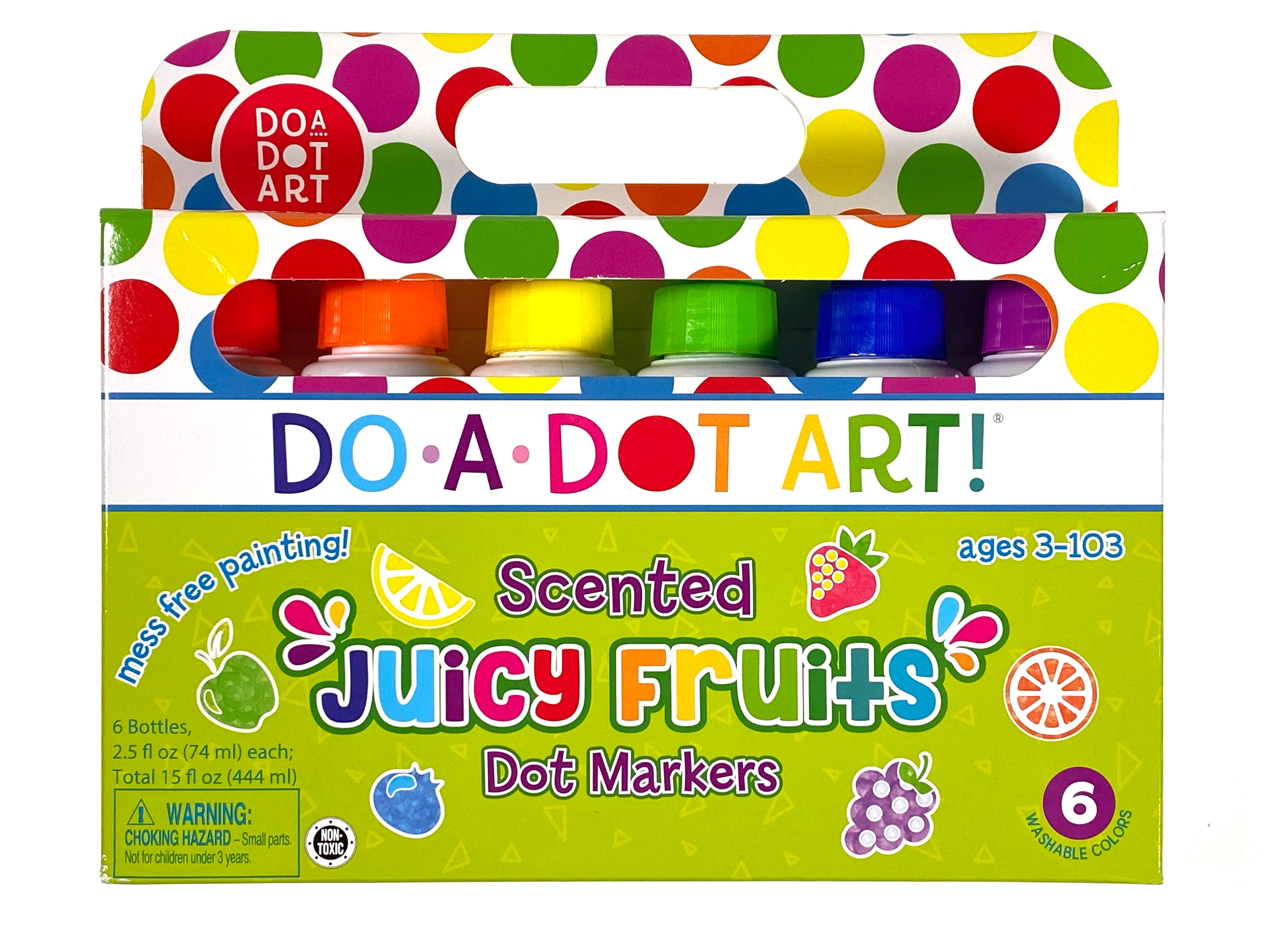 Do-a-Dot - Scented Juicy Fruits 6 Pack