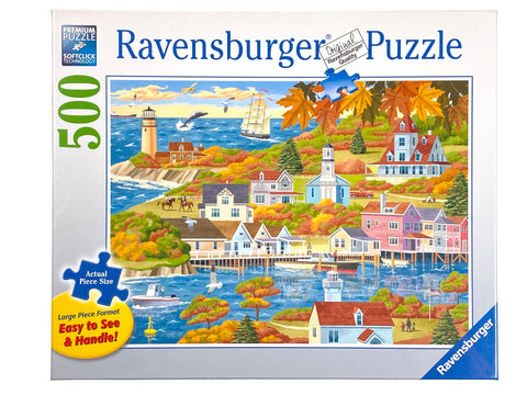 By Land and Sea large format 500 piece puzzle