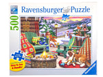 Apres Ski Apres All Day large format 500 piece puzzle