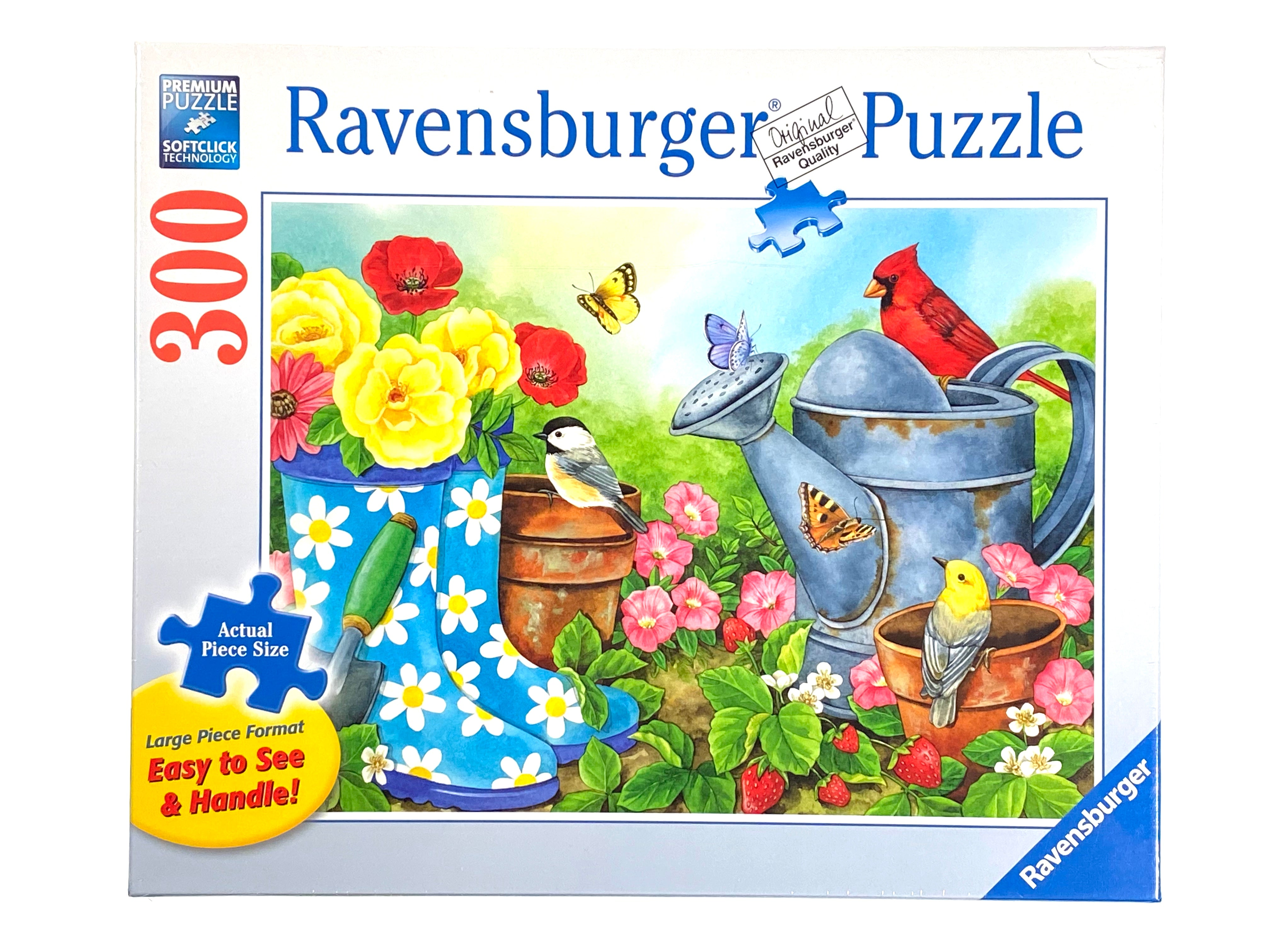 Garden Traditions large format 300 piece puzzle