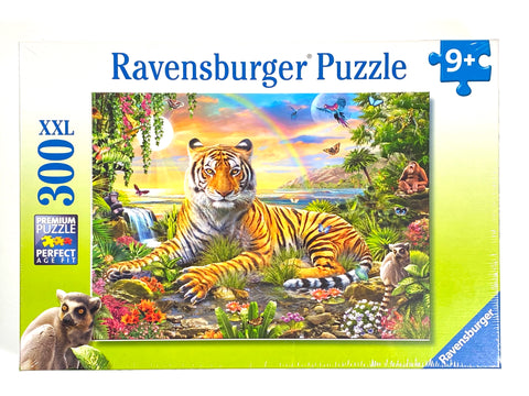 Tiger at Sunset 300 piece puzzle