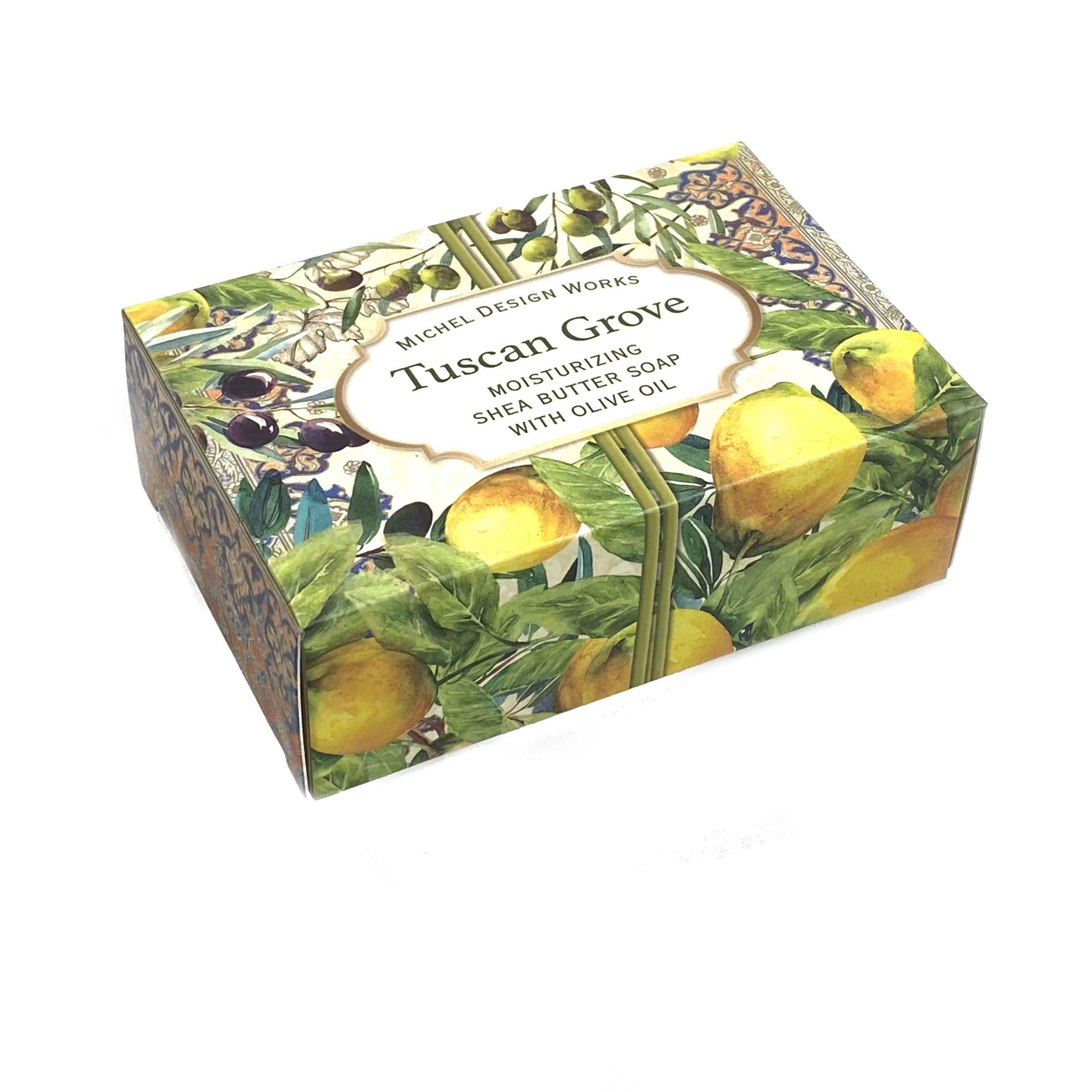 Tuscan Grove Shea Butter Soap with Olive Oil Boxed