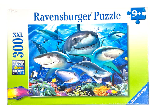 Smiling Sharks 300 piece puzzle