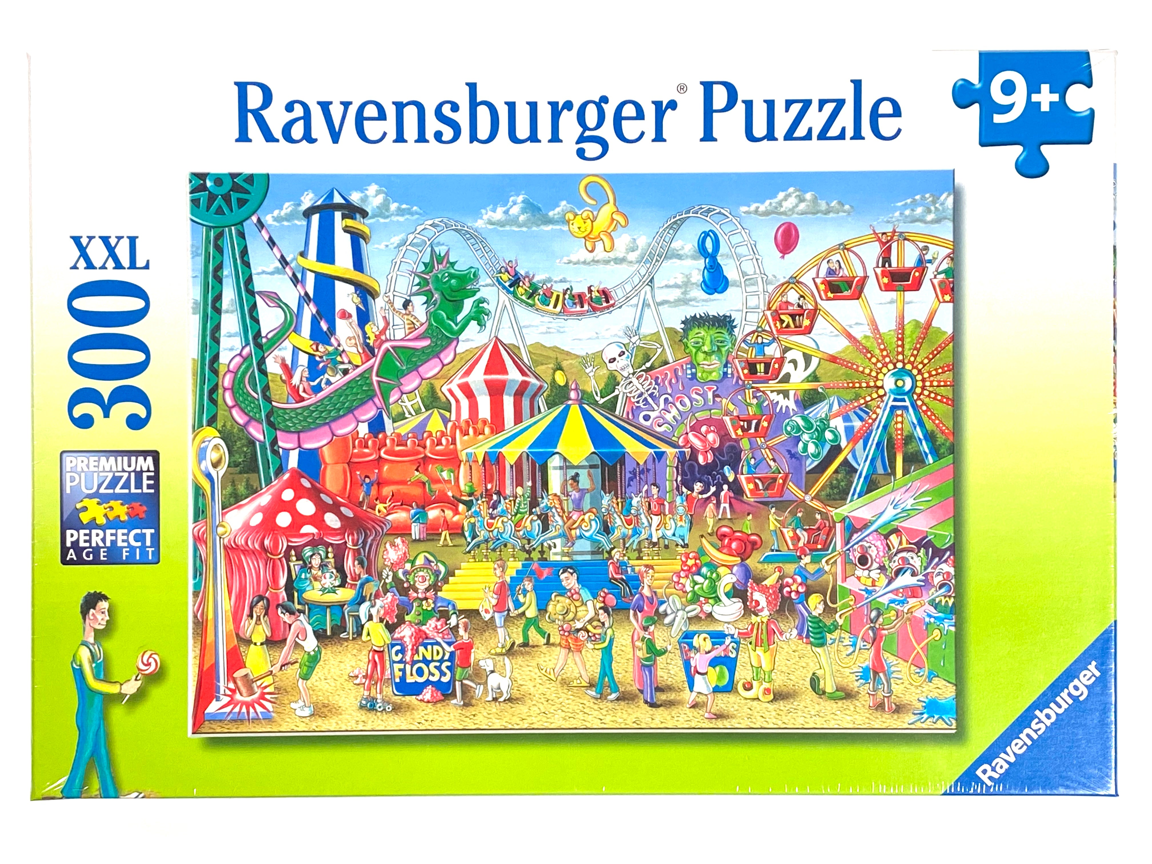 Fun at the Carnival 300 piece puzzle