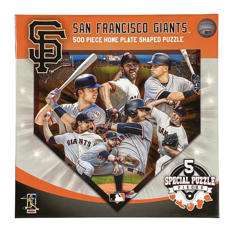 San Francisco Giants 500 Piece Puzzle Shaped