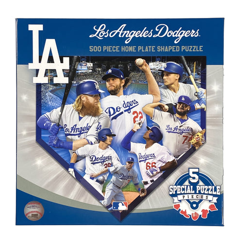 Los Angeles Dodgers 500 Piece Shaped Puzzle