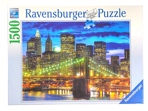 Skyline NYC 1500 piece puzzle