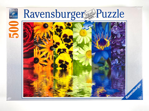 Floral Reflections 500 piece puzzle