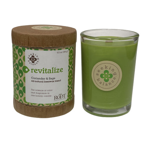 Root Candles Seeking Balance 6.5oz Spa Candle Revitalize