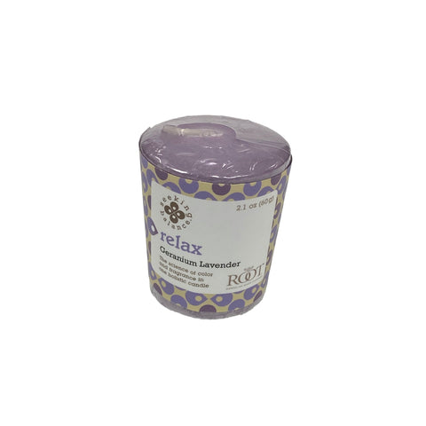 Root Candles Seeking Balance 20 Hour Votive Relax