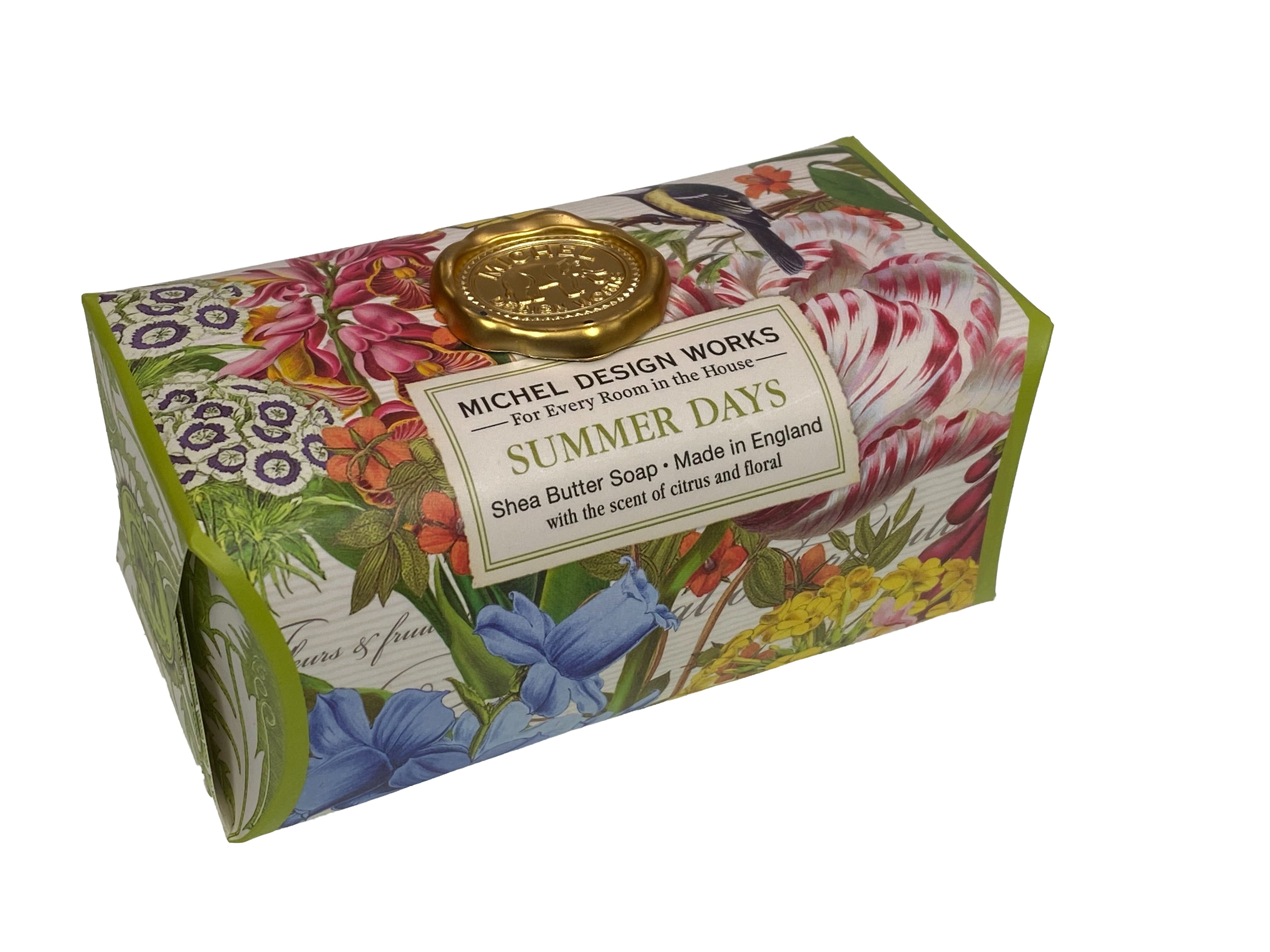 Summer Days Large Shea Butter Soap