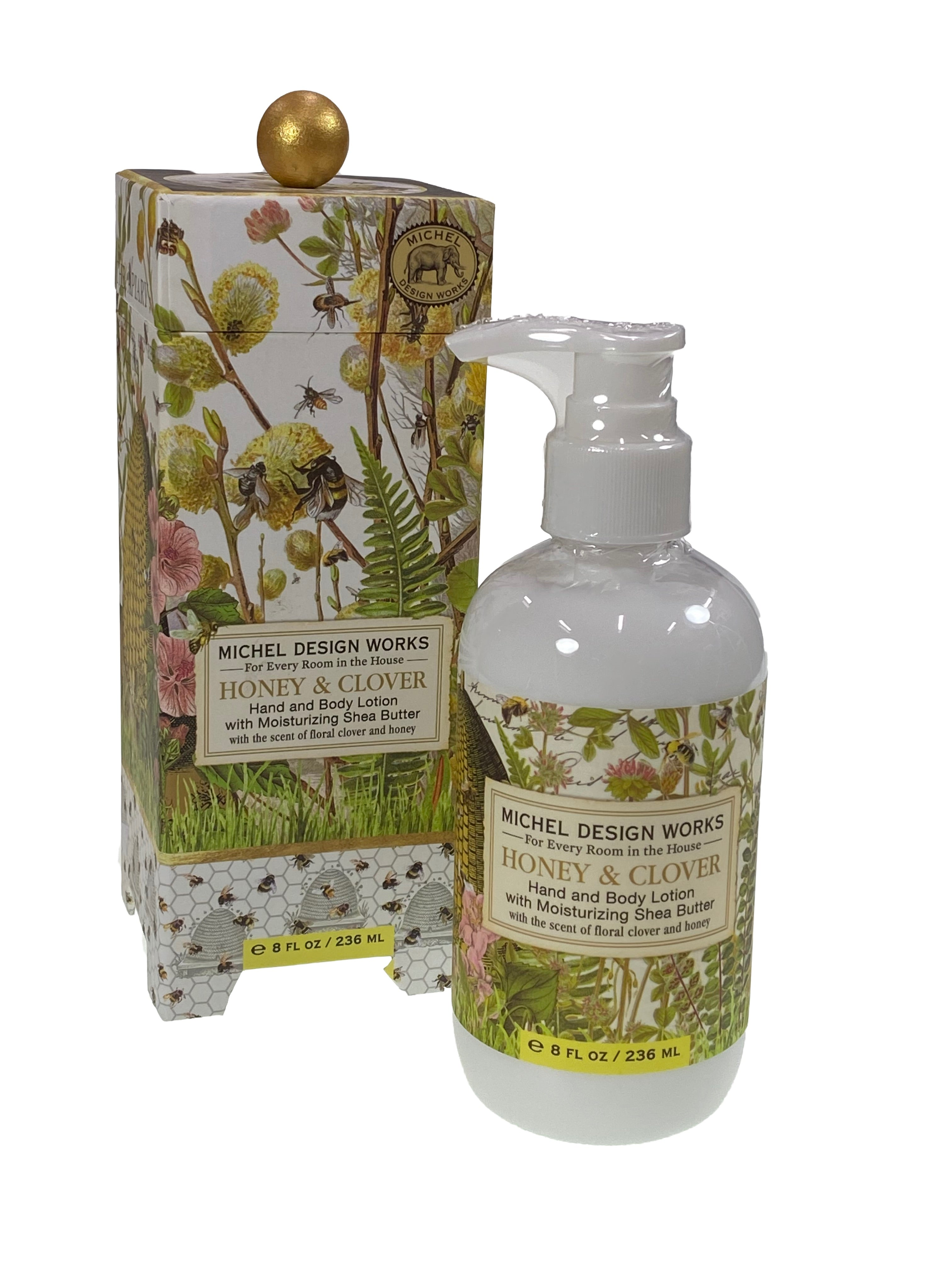Honey & Clover Hand and Body Lotion with Shea Butter