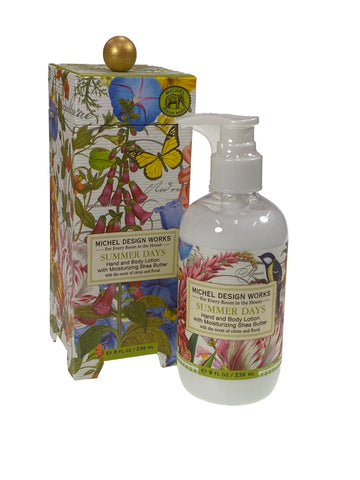 Summer Days Hand and Body Lotion with Shea Butter