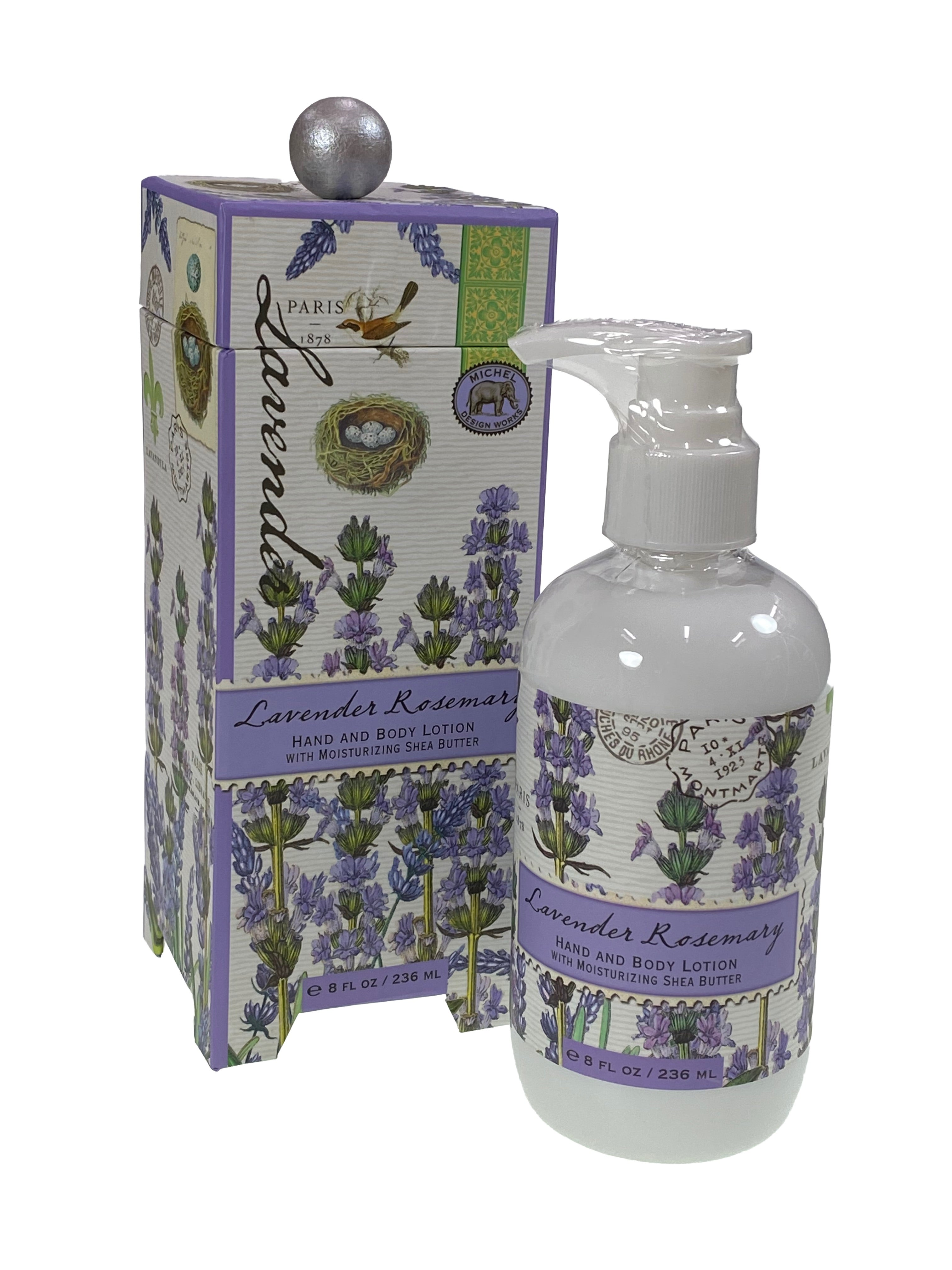 Lavender Rosemary Hand and Body Lotion with Shea Butter
