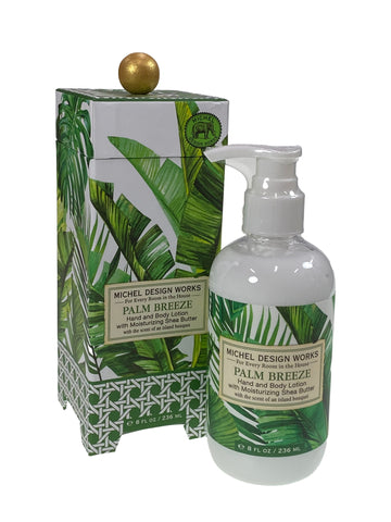 Palm Breeze Hand and Body Lotion with Shea Butter