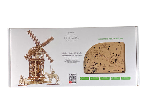 UGears Tower Windmill