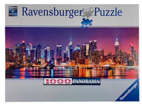 Manhattan Lights Panorama 1000 piece puzzle