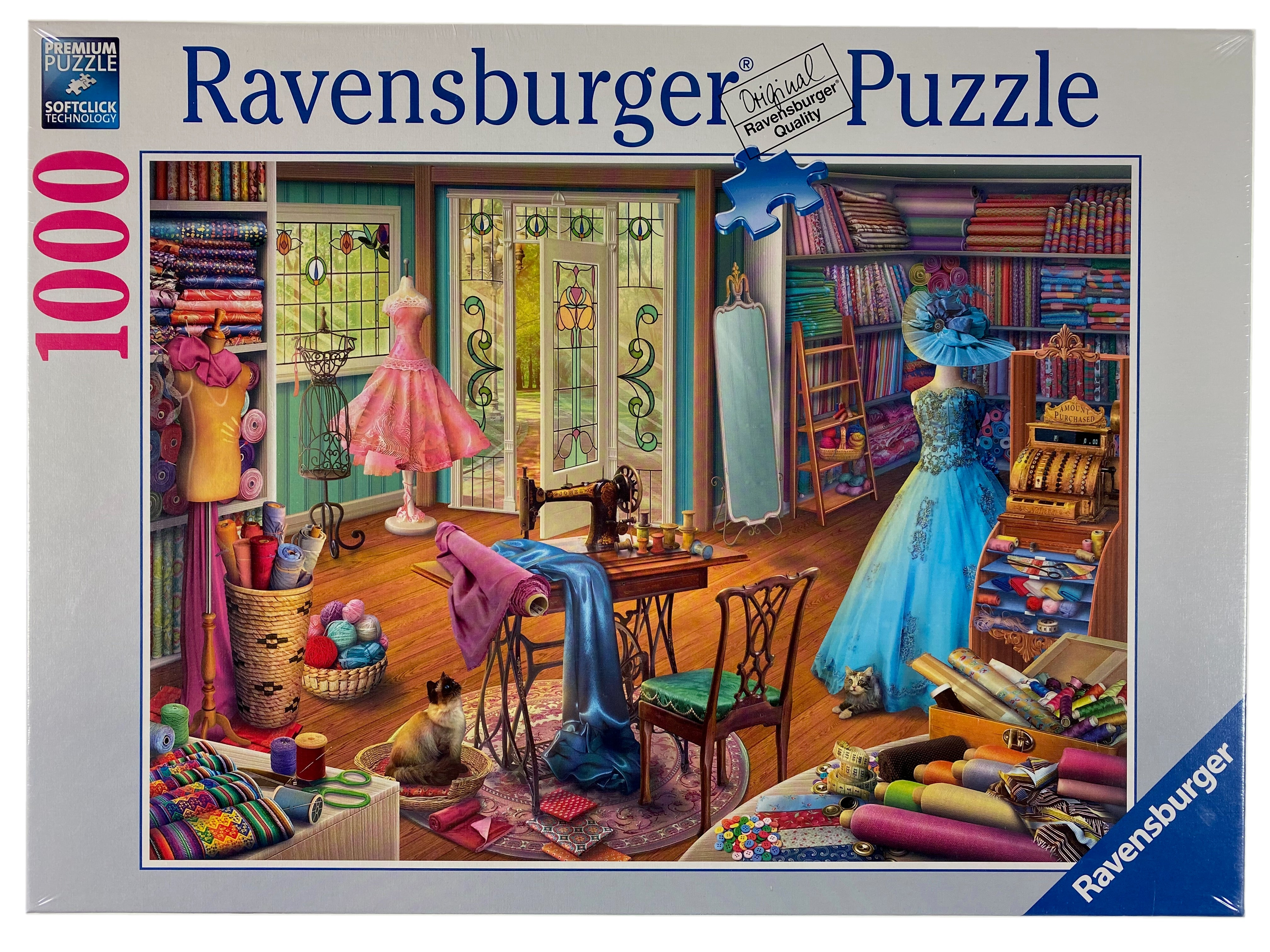 Seamstress Shop 1000 piece puzzle