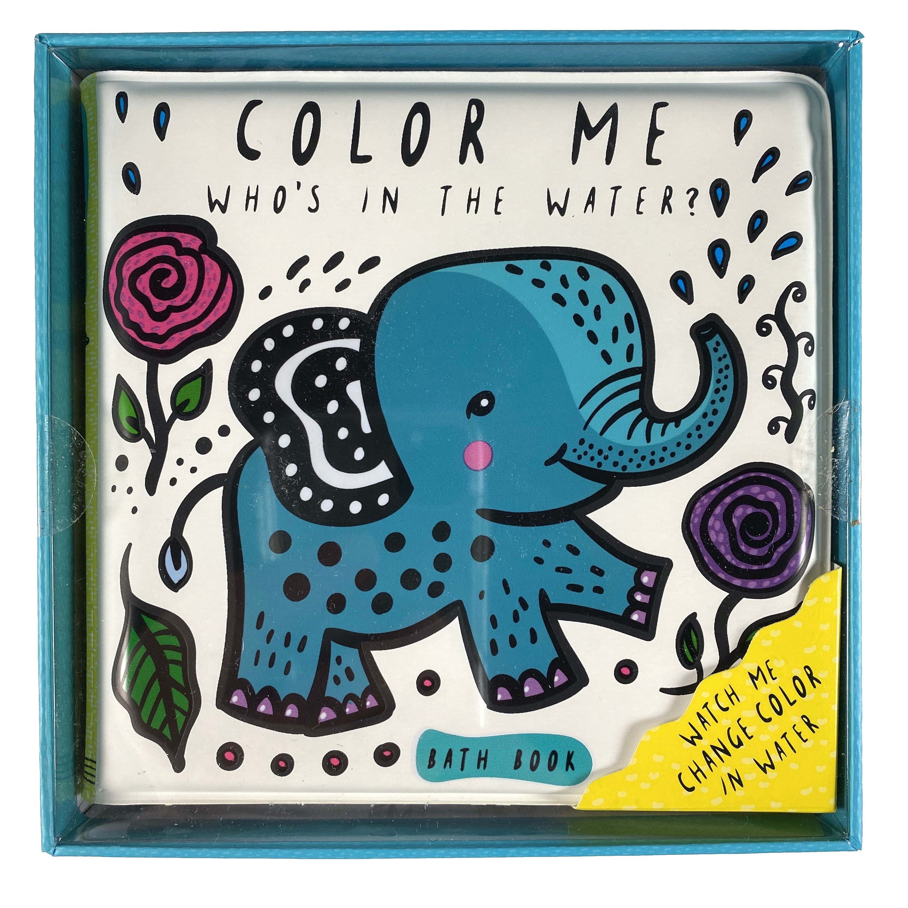 Color Me - Who's in the Water? Bath Book
