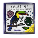 Color Me - Who's in the Rain Forest? Bath Book