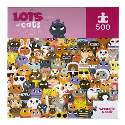 Lots of Cats 500 Piece Puzzle