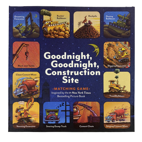 Goodnight, Goodnight Construction Site Matching Game