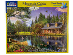 Mountain Cabin 1000 Piece Puzzle