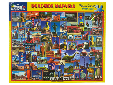 Roadside Marvels 1000 piece puzzle