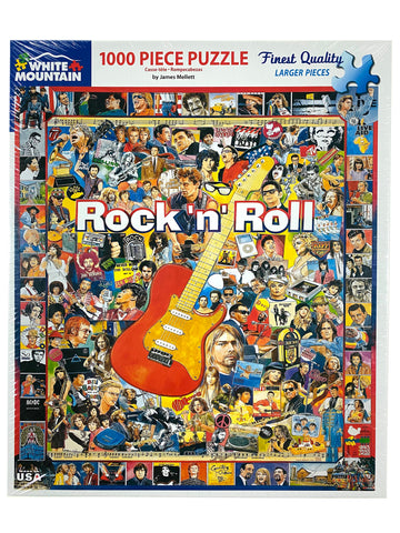 Rock 'n' Roll 1000 piece puzzle