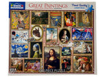 Great Paintings 1000 piece puzzle